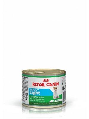ROYAL CANIN Adult Light 195g karma mokra, dla psów dorosłych, ras małych, tendencja do nadwagi