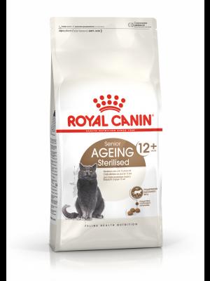 ROYAL CANIN Ageing +12 Sterilised 4kg karma sucha dla kotów dojrzałych, sterylizowanych