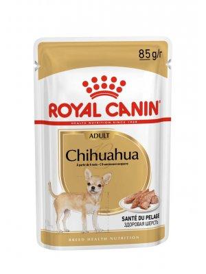 ROYAL CANIN Chihuahua Adult 85g karma mokra - pasztet, dla psów dorosłych rasy chihuahua