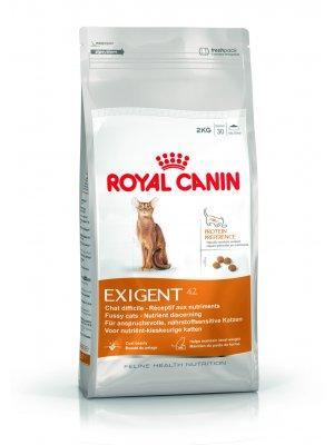 ROYAL CANIN Exigent Protein Preference 2kg karma sucha dla kotów dorosłych, wybrednych, kierujących się zawartością białka