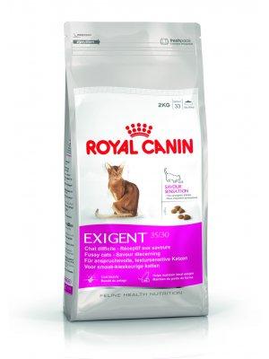 ROYAL CANIN Exigent Savour Sensation 4kg karma sucha dla kotów dorosłych, wybrednych, kierujących się teksturą krokieta