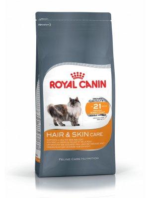 ROYAL CANIN Hair&Skin Care 2kg karma sucha dla kotów dorosłych, lśniąca sierść i zdrowa skóra