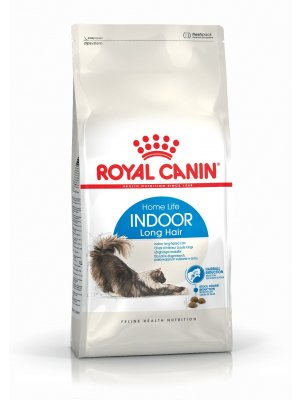 ROYAL CANIN Indoor Long Hair 4kg karma sucha dla kotów dorosłych, długowłose, przebywających wyłącznie w domu