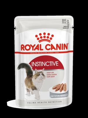 ROYAL CANIN Instinctive w sosie 85g karma mokra w sosie dla kotów dorosłych, wybrednych