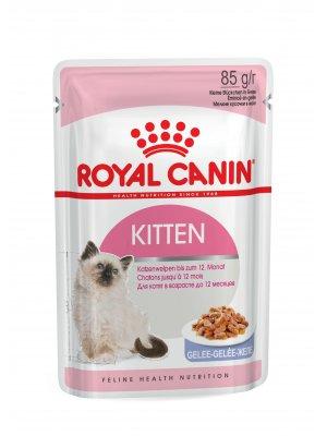 ROYAL CANIN Kitten Instinctive w galaretce 85g karma mokra w sosie dla kociąt do 12 miesiąca życia