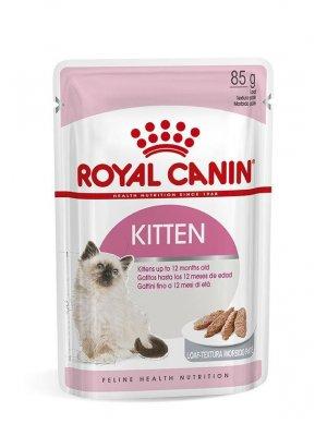 ROYAL CANIN Kitten Instinctive w sosie 85g karma mokra w sosie dla kociąt do 12 miesiąca życia