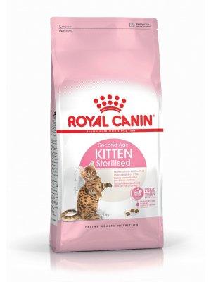 ROYAL CANIN Kitten Sterilised 2kg karma sucha dla kociąt od 4 do 12 miesiąca życia, sterylizowanych