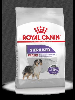 ROYAL CANIN Medium Sterilised 3kg karma sucha dla psów dorosłych, ras średnich, sterylizowanych