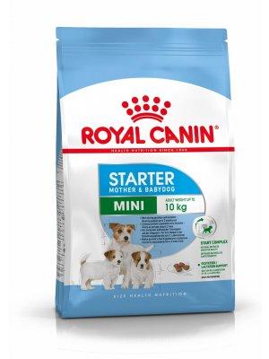 ROYAL CANIN Mini Starter Mother & Babydog 8,5kg karma sucha dla suk w ciąży i okresie laktacji oraz szczeniąt od 4 do 8 tygodnia, ras małych