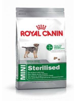 ROYAL CANIN Mini Sterilised 8kg karma sucha dla psów dorosłych, ras małych, sterylizowanych