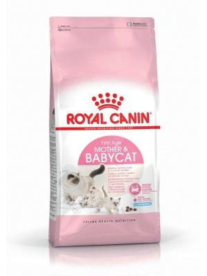 ROYAL CANIN Mother&Babycat 4kg karma sucha dla kotek w okresie ciąży, laktacji i kociąt od 1 do 4 miesiąca życia