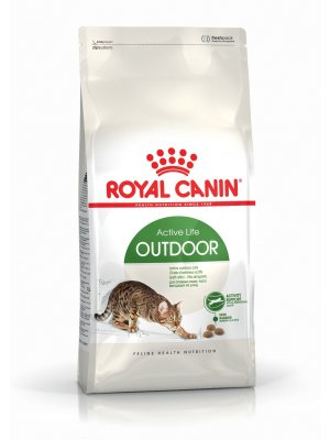 ROYAL CANIN Outdoor 2kg karma sucha dla kotów dorosłych, wychodzących na zewnątrz