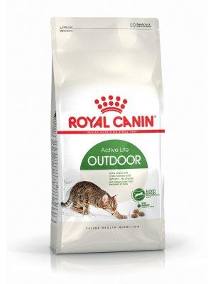 ROYAL CANIN Outdoor 4kg karma sucha dla kotów dorosłych, wychodzących na zewnątrz