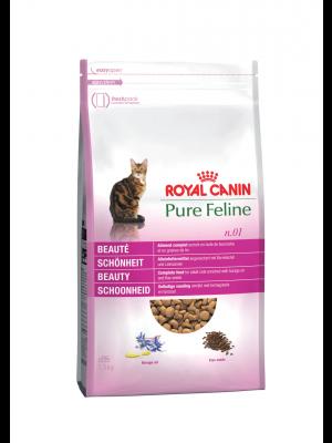 ROYAL CANIN Pure Feline Piękna Sierść 1,5kg karma sucha dla kotów dorosłych, wspomagająca piękną sierść