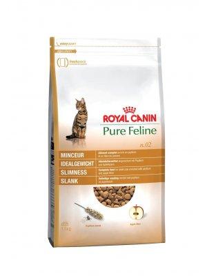 ROYAL CANIN Pure Feline Smukła Sylwetka 1,5kg karma sucha dla kotów dorosłych, wspomagająca smukłą sylwetkę