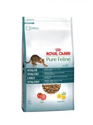 ROYAL CANIN Pure Feline Witalność 1,5kg karma sucha dla kotów dorosłych, wspierająca witalność
