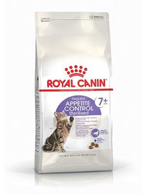 ROYAL CANIN Sterilised Appetite Control +7 0,4kg karma sucha dla kotów starszych, sterylizowanych, domagających się jedzenia