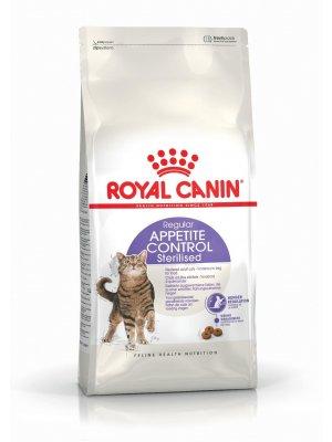 ROYAL CANIN Sterilised Appetite Control 0,4kg karma sucha dla kotów dorosłych, sterylizowanych, domagających się jedzenia
