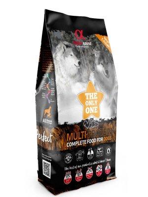 Alpha Spirit Pełnoporcjowa karma sucha multiprotein 12kg