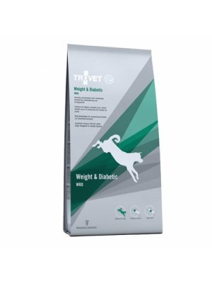 TROVET Weight & Diabetic WRD karma dla psa 12,5kg