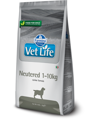 Farmina Vet Life neutered 1-10kg 2kg