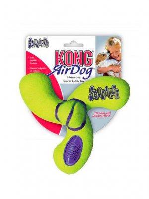 "KONG AirDog Squeaker Spinner ""M"" - 13 cm"