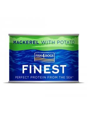 Fish4Dogs Mackerel Wet Complete Food - Karma z makrelą i ziemniakami 185 g