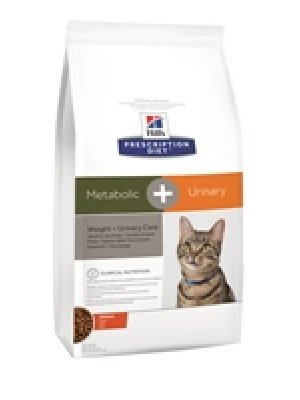 HILL'S PRESCRIPTION DIET METABOLIC+URINARY FELINE 1,5kg