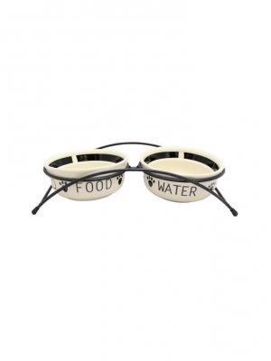 Trixie Miski ceramiczne na stojaku - 0,6 l/o /15 cm