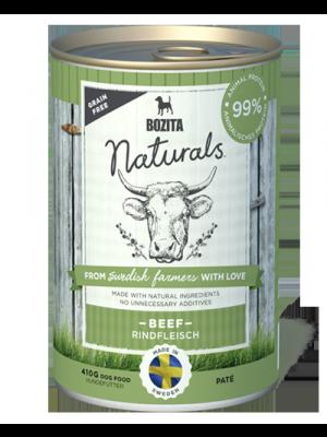 BOZITA NATURALS z wołowiną 410g