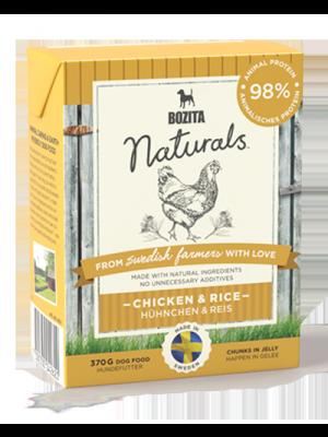 BOZITA NATURALS z kurczakiem&ryżem 370g