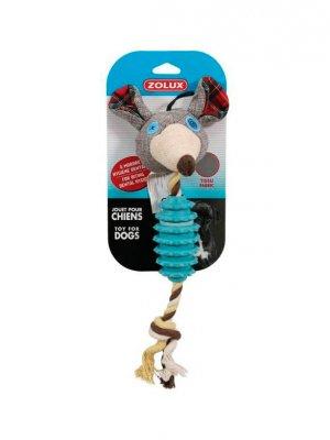 Zolux Mysz z kauczuku i materiału - 25 cm