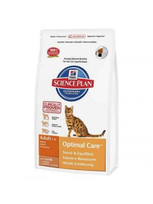 HILL'S SCIENCE PLAN OPTIMAL CARE ADULT JAGNIĘCINA 0.4kg