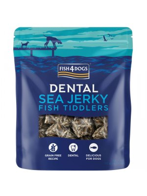 Fish4Dogs Sea Jerky Fish Tiddlers 115g