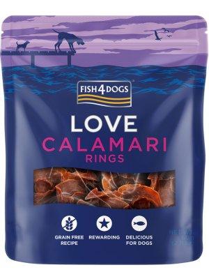 Fish4Dogs Calamari Rings - Krążki z Kalmarów 60g
