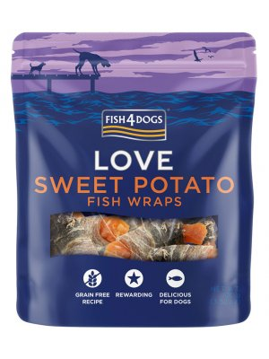 Fish4Dogs Sea Wraps Sweet Potato 100 g