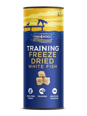 Fish4Dogs Freeze Dried White Fish 25 g