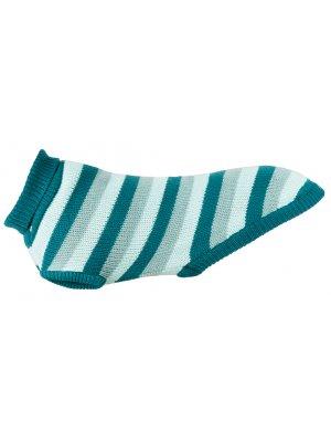 "Trixie Sweterek ""Burnaby"" L 60 cm Blue/Mięta"
