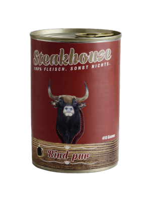 MeatLove STEAKHOUSE PURE BEEF 410G