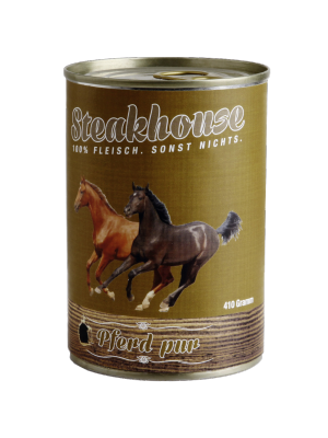 MeatLove STEAKHOUSE PURE HORSE 410G