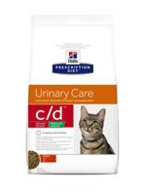HILL'S PRESCRIPTION DIET C/D MULTICARE FELINE URINARY STRESS REDUCED CALORIE KURCZAK 1,5kg
