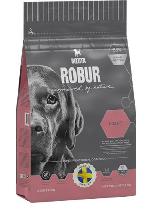 BOZITA Robur Light 19/8 2,5kg