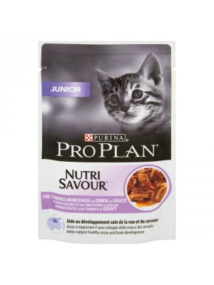 PURINA PRO PLAN JUNIOR SASZETKA INDYK 85g