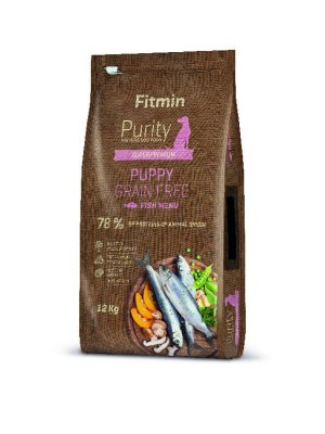 Fitmin Purity Dog Grain Free Puppy Fish 12 kg