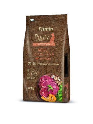 Fitmin Purity Dog Grain Free Adult Beef 12 kg