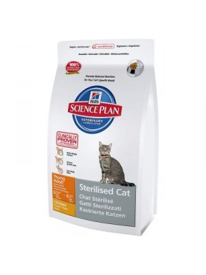 HILL'S SCIENCE PLAN YOUNG ADULT STERILISED CAT 3,5kg