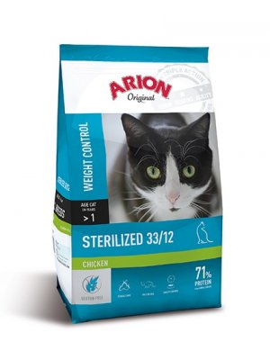 Arion Original Cat Sterilized Chicken 2kg