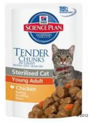 HILL'S SCIENCE PLAN STERILISED CAT KURCZAK SASZETKA 85g