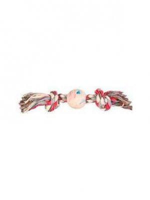 Trixie Piłka gumowa 7,5cm ze sznurem