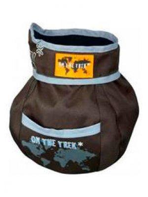 """Trixie Pojemnik na smakołyki dla psa """"On the Trek"""" 11x16 cm - Brązowy"""